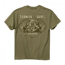 TURN IN YOUR GUNS, The GOVERNMENT WILL TAKE CARE Of YOU T SHIRT - NRA 2XL