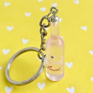 Cute Pink Guava Vodka Cruiser Keyring Key Ring Key Chain Fun Dangle Accessory