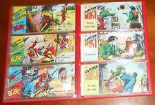 ED.DARDO SERIE A STRISCIA COLLANA FRECCIA 1/117 CPL MIKI-BLEK 1965 ORIGINALE !!!