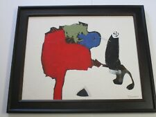 VINTAGE CONTEMPORARY NON OBJECTIVE  PAINTING ABSTRACT EXPRESSIONISM MODERNISM