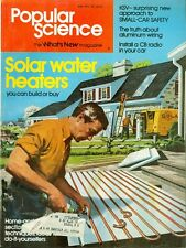 1976 Popular Science Magazine: Solar Water Heaters/Aluminum Wiring/CB Radios