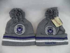 Toronto Maple Leafs Mitchell & Ness NHL Cuffed Knit Beanie Toque Hat Cap OSFA