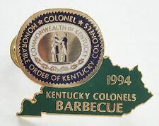 KENTUCKY COLONELS BARBECUE PIN 1994 PIN NEW