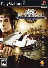 Genji Dawn of the Samurai New Sony Playstation 2