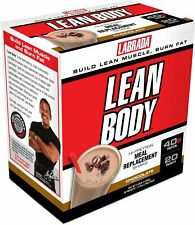 Labrada CARB WATCHERS Lean Body Protein Meal Replacement 20 Packets CHOCOLATE