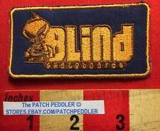 Skaters! Grim Reaper BLIND Brand Co. Skateboard Jacket Patch Logo Vtg 1990s 5DQQ