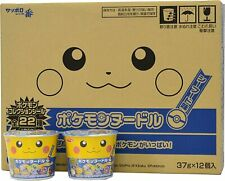 【Sapporo ichiban】 Pokemon Noodle Seafood flavor 12pcs from Japan