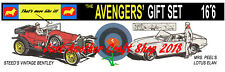 Corgi Toys The Avengers Gift Set GS 40 Poster Shop Display Sign Leaflet Advert