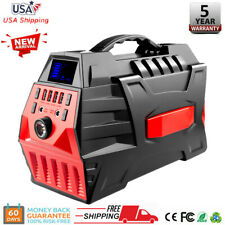 500W Portable Power Station Solar Generator Backup Battery Source Power Supply