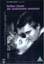 Letter From an Unknown Woman 5028836031048 With Joan Fontaine DVD Region 2