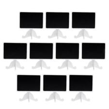 10pc Vintage Mini Chalkboard Blackboard Place Card Holder Table Number Stand