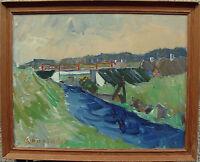Arnold William Pedersen 1912-1986, Skaerbaek, um 1960