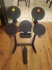 Activision, Guitar Hero World Tour Drums, Cymbals + Pedal Nintendo Wii no-sticks