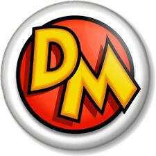 DANGER MOUSE 25mm Pin Button Badge Old School Cartoon Retro Kids TV 1980s DM