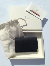 Graf von Faber Castell Business card case Epsom leather grained Black