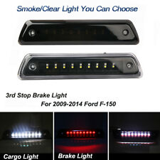 for 2009-2014 Ford F-150 LED Smoke Rear 3rd Third Stop Brake Light Cargo Lamp