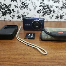 Canon PowerShot A2200 HD 14.1MP Digital Camera Blue Point And Shoot W/ Case