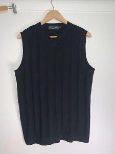 Tarocash Vest Black Wool