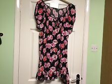 YOURS LADIES GYPSY TOP SIZE 22