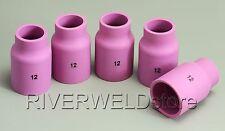 53N87 #12 Tig Alumina Nozzle Gas Lens Fit Sr Db Wp17 18 26 Tig Welding Torch 5K