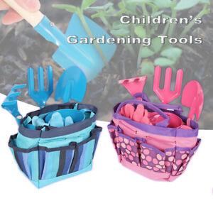 Children's Gardening Tool Kids Garden Tool Set Beach Toy with Shovel Rake Fork