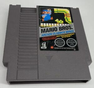 THE ORIGINAL MARIO BROS NINTENDO  NES  1986 RARE