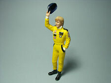 FIGURINE  RONNIE  PETERSON  VROOM   A   PEINDRE  1/18   UNPAINTED  KIT  NO SPARK