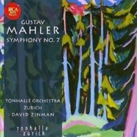 "DAVID ZINMAN ""MAHLER: SYMPHONY NO 7"" SACD NEW+"