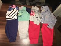 6 Month Baby Boy Clothes Lot Fall Outfits Carters 6M Tops And Pants