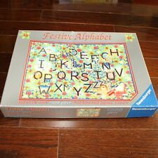 Ravensburger Christmas 2000 Limited Edition Festive Alphabet Julie Claire 1000pc