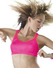 Brassières de fitness rose pour femme