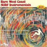 RARE WEST COAST SURF INSTRUMENTALS  CD NEW+