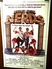 Revenge of the Nerds 20th Century Fox ORIGINAL 1984 One Sheet Movie Poster 27x41