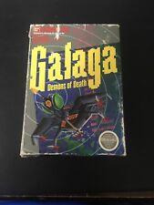 Galaga: Demons of Death ORIGINAL Nintendo NES BOX ONLY! Authentic!
