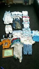 baby clothes, sleep suits, grow bags, 0-3 month baby clothes.