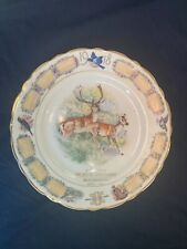 1918 the crystal confectionery, reno nevada mcnicol calendar plate candy store