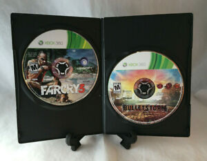 Farcry 3 & Bullet Storm (Microsoft Xbox 360) Tested - Disc Only