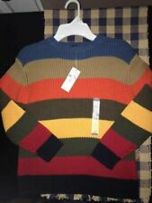 Children's Place NWT Boy Size S (5/6) Striped Sweater