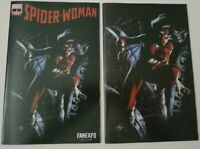 Spider-Woman #1 Dell'otto Trade And Virgin Variant Set