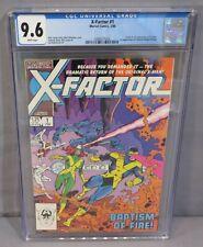 X-FACTOR #1 (Origin & First app Rusty, Cameron Hodge) CGC 9.6 NM+ Marvel 1986