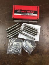"RED HEAD Expansion Wedge Anchor,SS,5/8""D,5""L,PK10, WW-5850 TRUBOLT FREE SHIPPING"