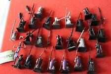 Games Workshop Warhammer Dark Elves Elf Warriors with Spears and Shields Army