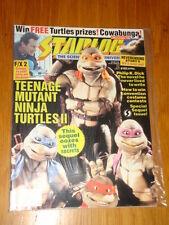 STARLOG #165 SCI-FI MAGAZINE APRIL 1991 TEENAGE MUTANT NINJA TURTLES II