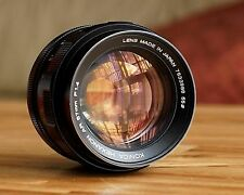 Konica Hexanon 57mm f1.4 lens. Optics in Mint condition. Gorgeous creamy bokeh!