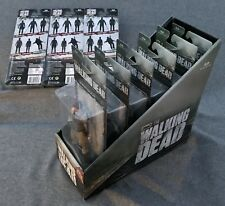 NIB McFarlane Walking Dead TV Series 6 COMPLETE SET OF 9 w/DARYL DIXON & DISPLAY