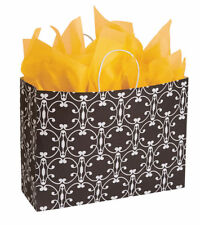 Paper Shopping Bags 25 Halo 16 X 6 X 12 Large Gift Black White Merchandise