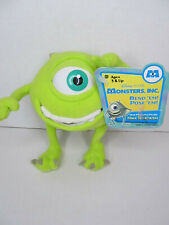 "MonstersInc Mike Wazowski Bend Em Pose 'Em Stuffed Animal Character 6"" Toy 2001"