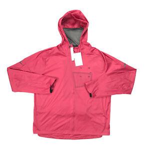 $200 Nike Tech Pack Ultra Light Running Jacket Red Men's Size Large CT2381-615
