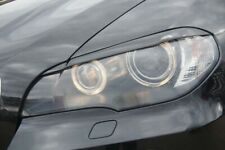 BMW eyebrows eyelids x5 e70 headlight spoiler TUNING original ABS plastic lids