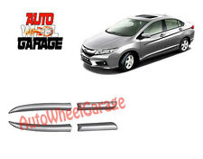 Premium Color Side Beading for Honda City Alabaster Silver Metallic